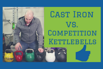 CAST IRON vs COMPETITION KETTLEBELLS